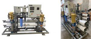 تولید آب فوق خالص با آب شیرین کن صنعتی