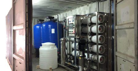 دستگاه تصفیه آب کانتینری